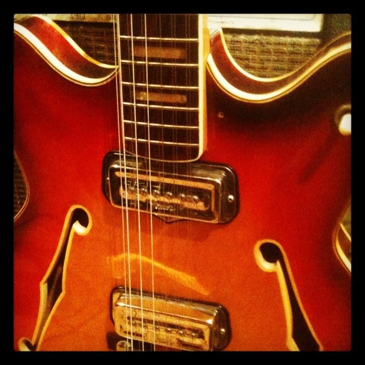 Chris Kramer's Fender Coronado XII Guitar